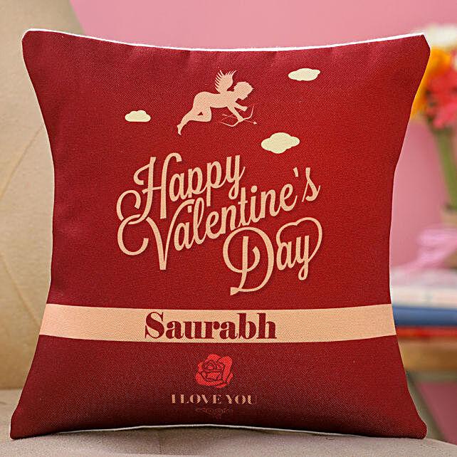 valentine day printed cushion online:Send Valentines Day Gifts to Argentina