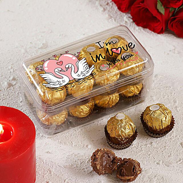 I am In Love With You Ferrero Rocher Box