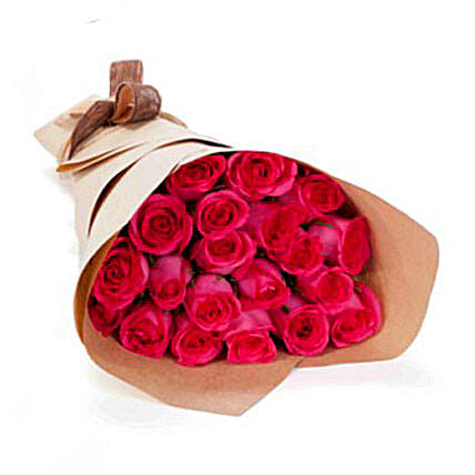 20 Pink Roses:Valentine's Day Bouquet Delivery in Australia