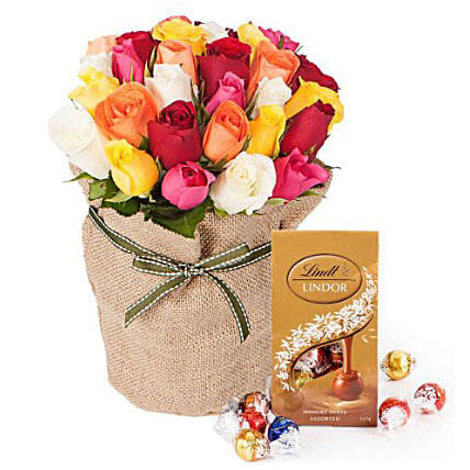 30 Mixed Roses Bouquet