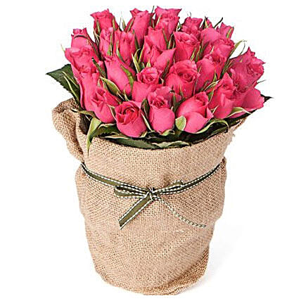 30 Pink Roses