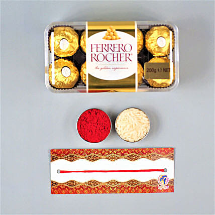 Bhaidooj Luck With Ferrero Rocher
