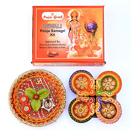 Blissful Diwali Diyas Combo