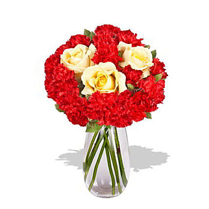 Carnation Delight:Send Mixed Flowers To Australia