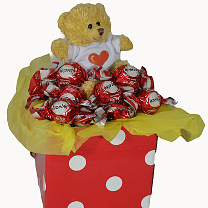 Chocolates N Teddy Combo