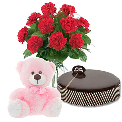 Chocolaty Delightful Hamper:Send Carnation Flower to Australia