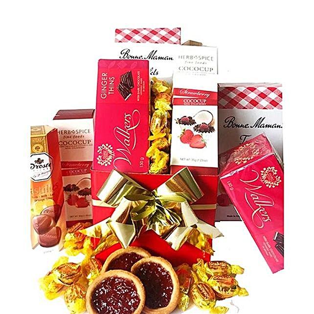 Christmas Joy Snack Hamper:Send Christmas Gift Hampers to Australia