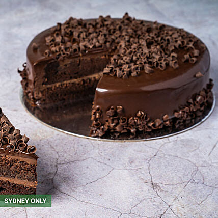 Classic Chocolate Mud Cake:Chocolate Cakes