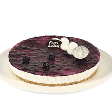 Fresh Blueberry Cheesecake:Send Birthday Cakes to Australia