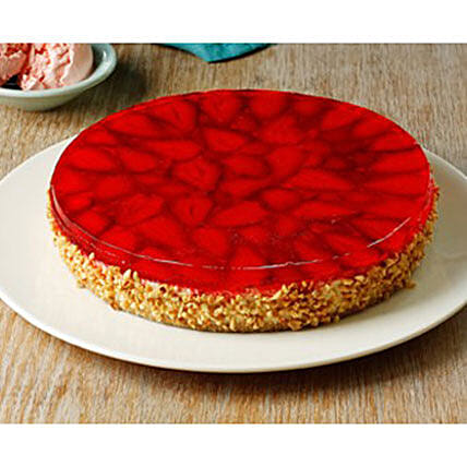 Fresh Strawberry Cake:Send Gifts for Her in Australia