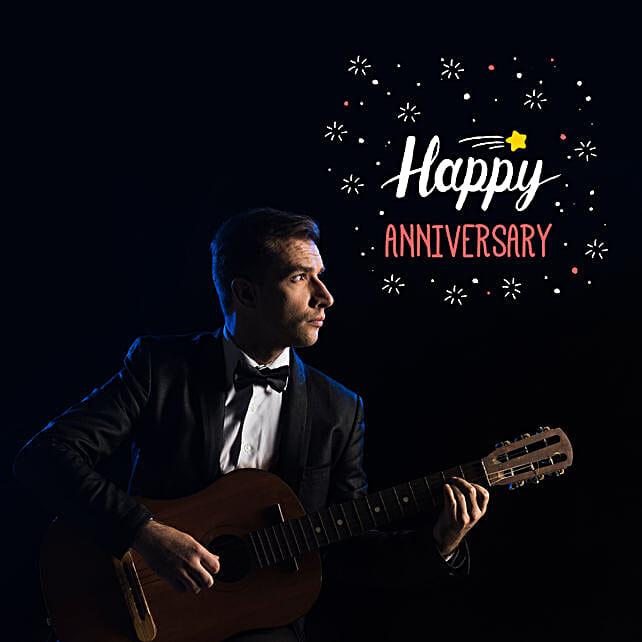 Happy Anniversary Romantic Tunes:Anniversary Gift Delivery in Australia