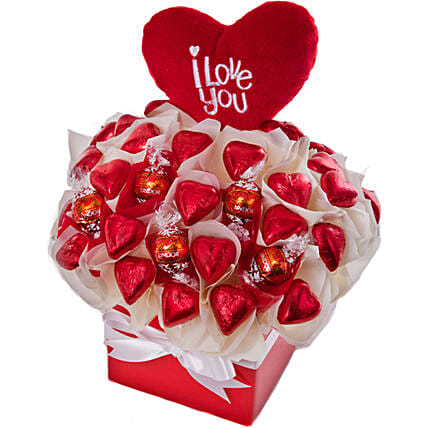 I Love You Chocolates Gift Hamper