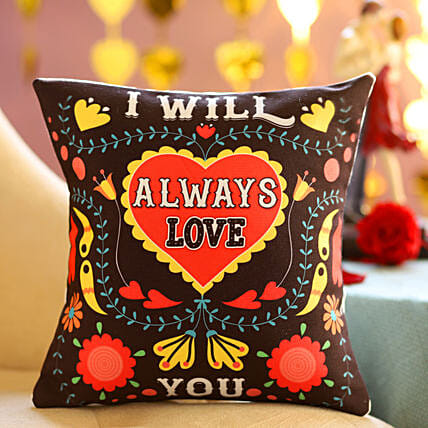Online Always Love Cushion