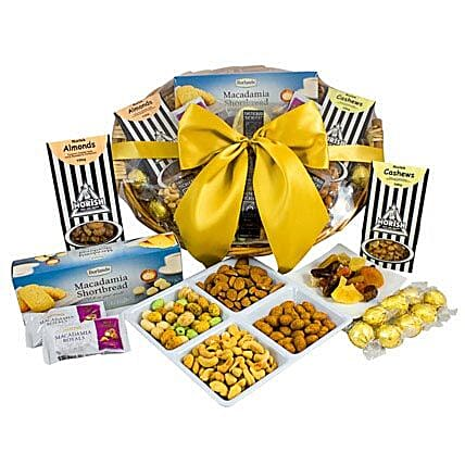 NUT HAMPER in australia | Gift NUT HAMPER - Ferns N Petals