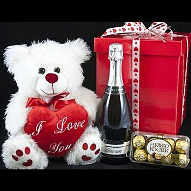 Perfect Valentines Evening Hamper