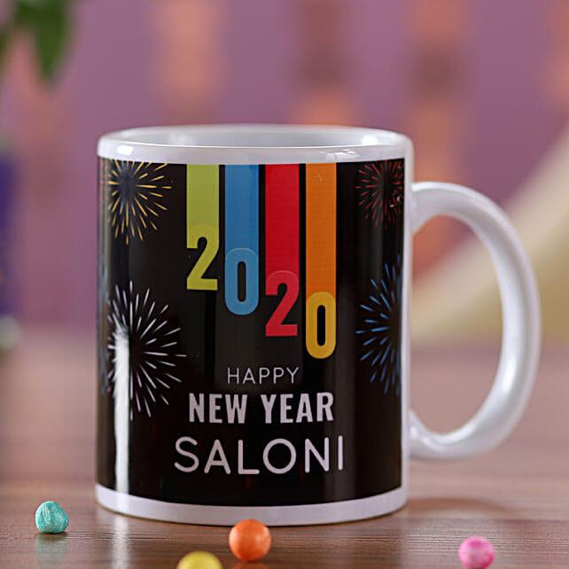 Name Printed  Mug For New Year