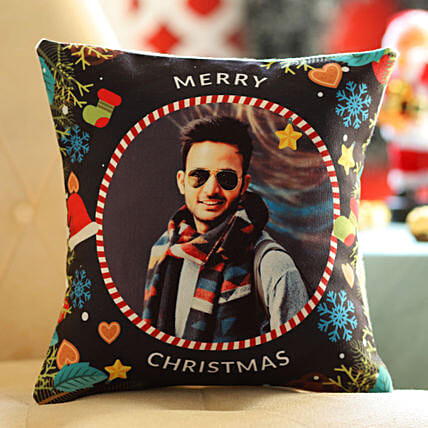 photo cushion for him on christmas