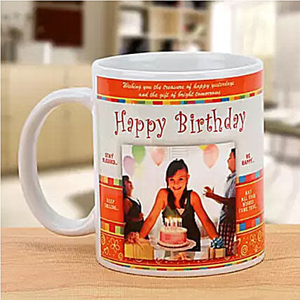 Personalized Happy Birthday Mug:Personalised Gifts to Australia
