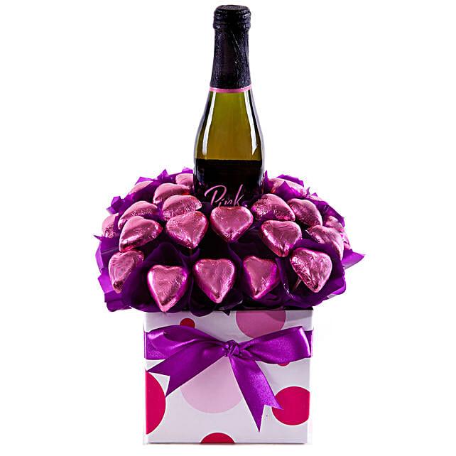 Pink Party Valentines Hamper
