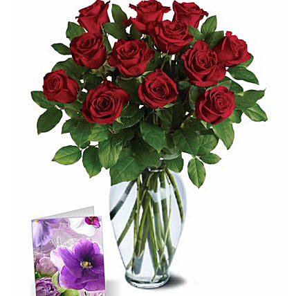 Red Roses Greetings
