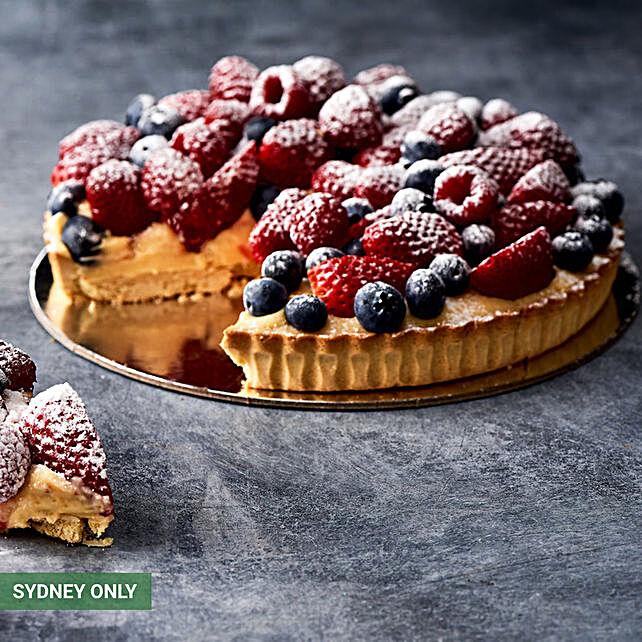 Fresh Tripple Berry Tart