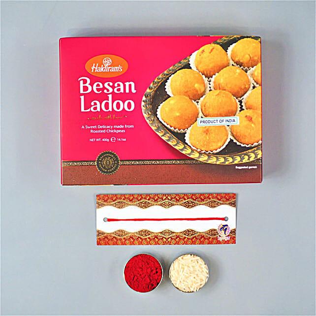 Bhaidooj Festivities With Besan Laddu:Send Sweets to Australia