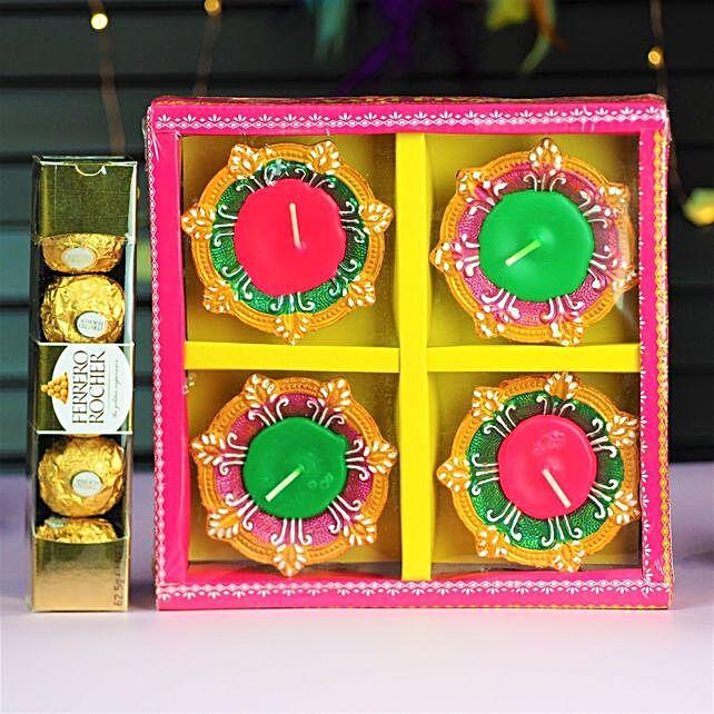 Diwali Diyas With Chocolates:Best Chocolate Shop in Australia
