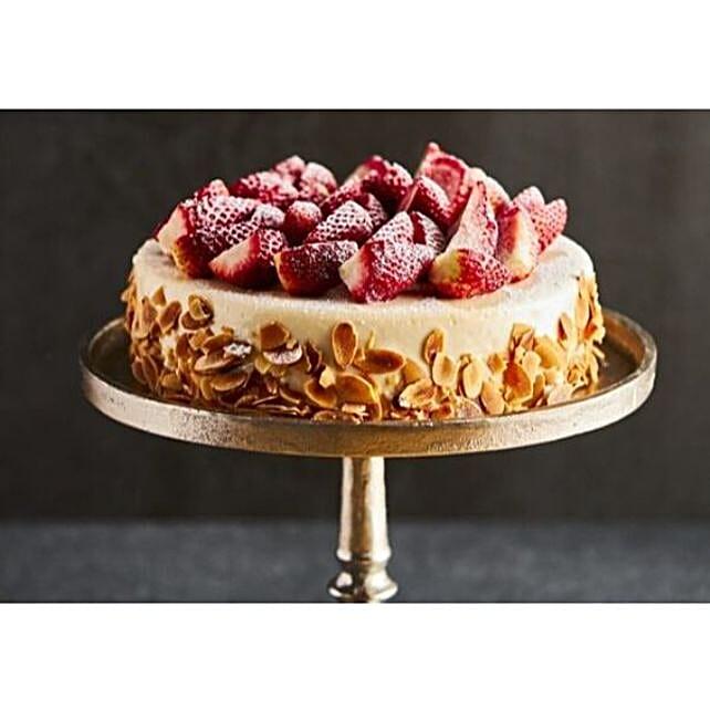 Vanilla Fruit Cake Delight:Send  Cakes to Australia
