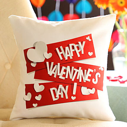 Online Happy Valentine's Day Cushion