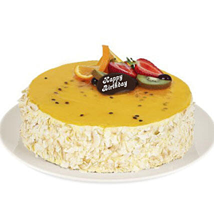 Vanilla Passion Fruit Cake