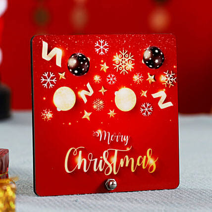 Colourful Merry Christmas Table Top Online
