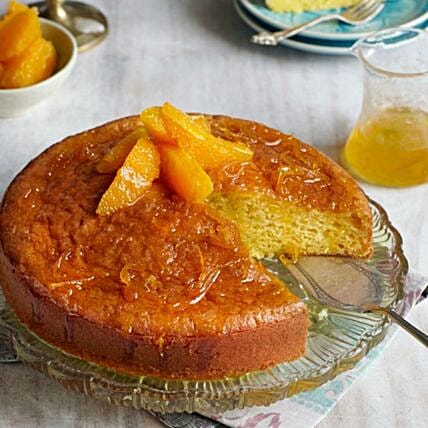 Moist Orange Cake:Cake Delivery in Bahrain