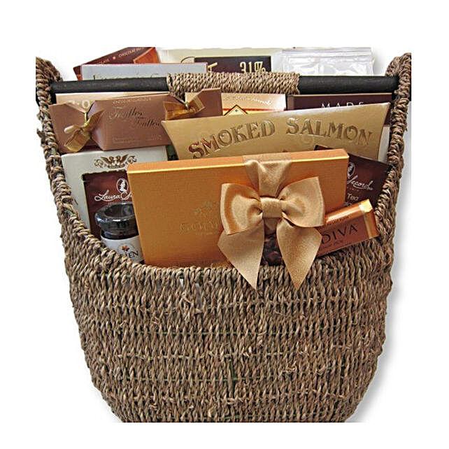 A Basket Of Gourmet Delights