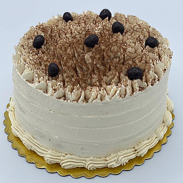 Ambrosial Tiramisu Eggless Cake