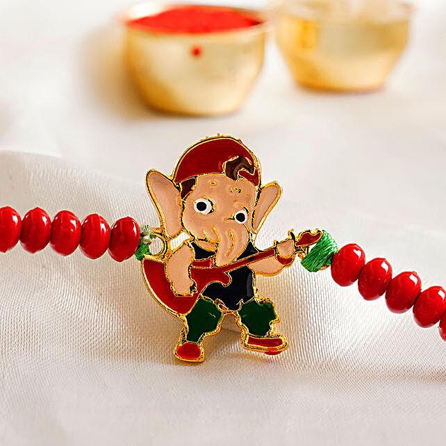 Appealing Bal Ganesha Kids Rakhi