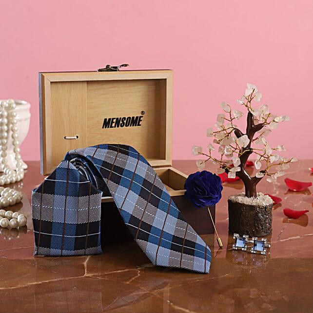 Blue Tie Set