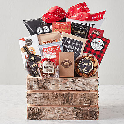 Canadiana XL Gourmet Food Basket:Gift Baskets Delivery Canada