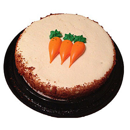 Carrot Cake Half Kg:Send Mothers Day Cakes to Canada