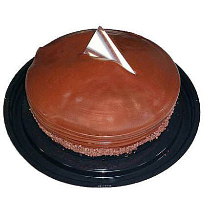 Choco Fudge Cake Half Kg:Chocolate Cake Delivery in Canada