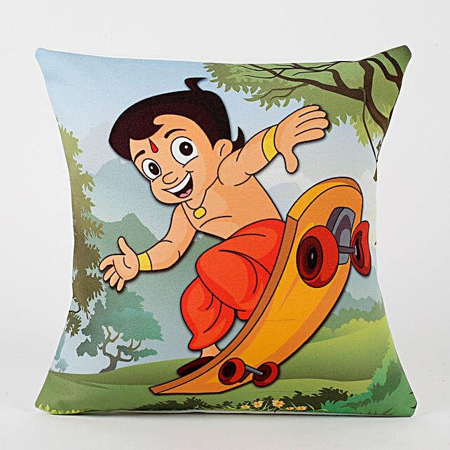 Chota Bheem Printed Cushion