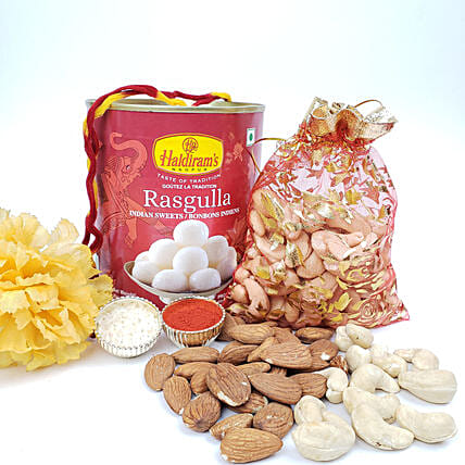 Crunchy And Sweet Festive Platter:Send Dry Fruits to Canada