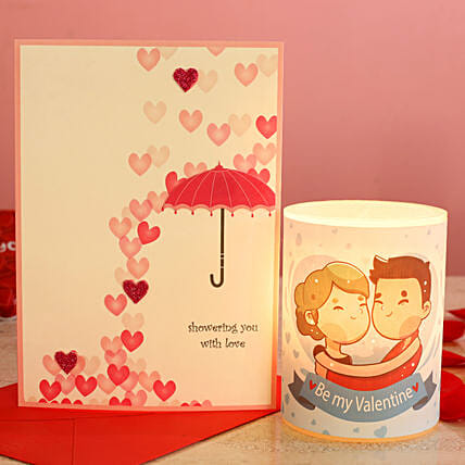 Cute Graphic Hollow Candle