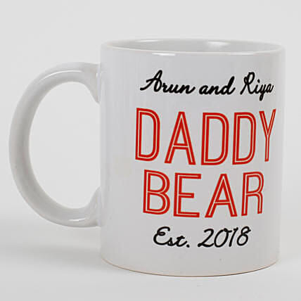 Daddy Bear Lovable Ceramic Mug