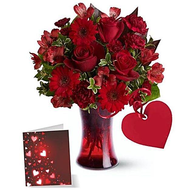 Designer Floral Arrangement For Love