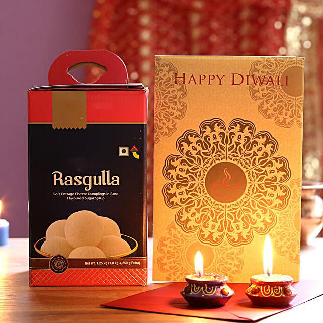 Diwali Celebrations With Rasgulla