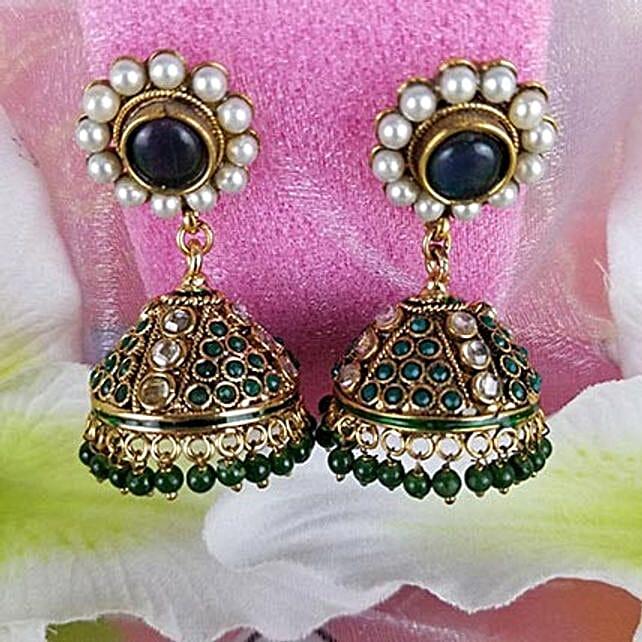 Embellished Antique Earrings