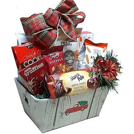 Exclusive Festive Christmas Basket