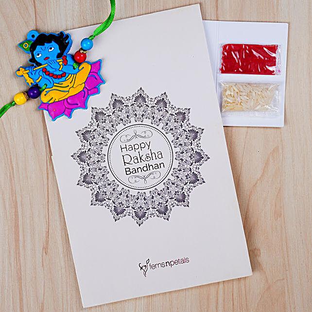 Fabulous Krishna Kids Special Rakhi