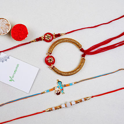 Family Set Of Lumba And Kids Rakhis:All Rakhi - Canada