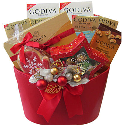 Godivas Christmas Celebration Hamper